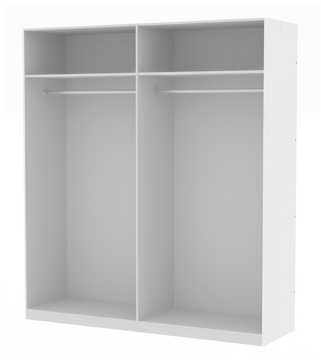 Save Cabinet for hinged + sliding doors - 200 cm (220x58)