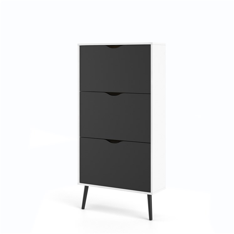 Oslo Shoe cabinet 3 drawers