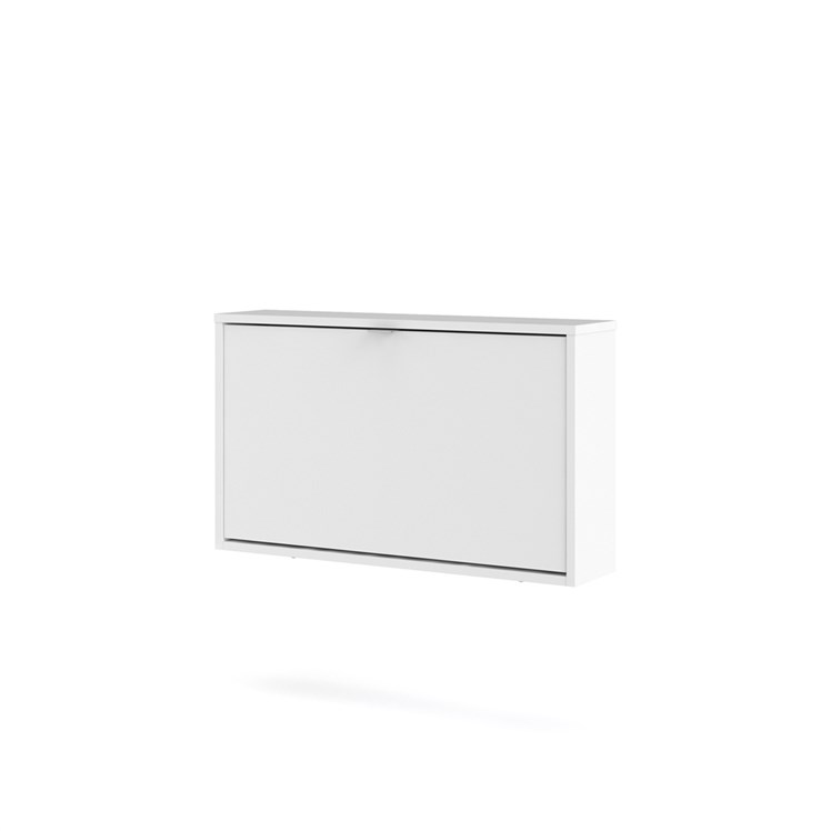 Shoes Shoe cabinet  w. 1 tilting door and 1 layer