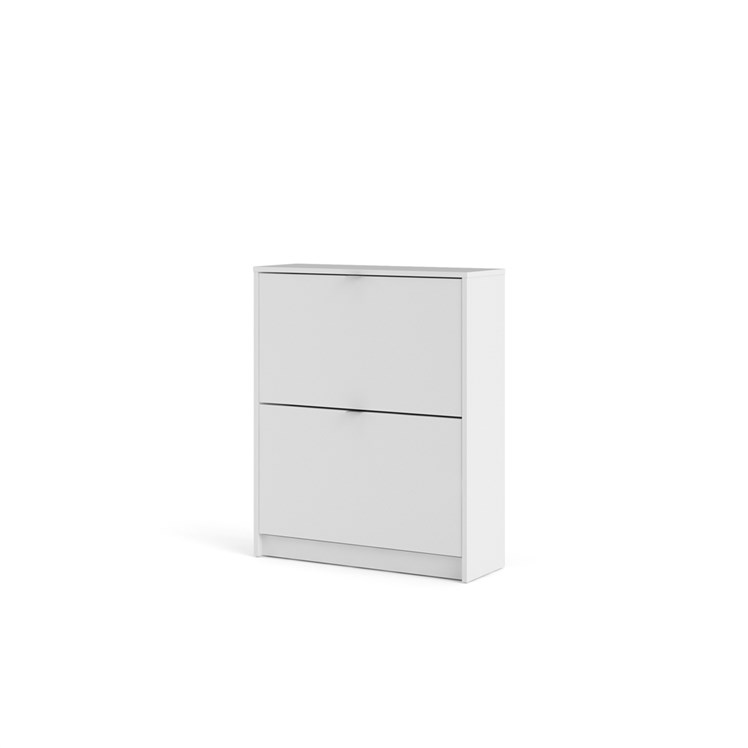 Shoes Shoe cabinet  w. 2 tilting doors and 2 layers