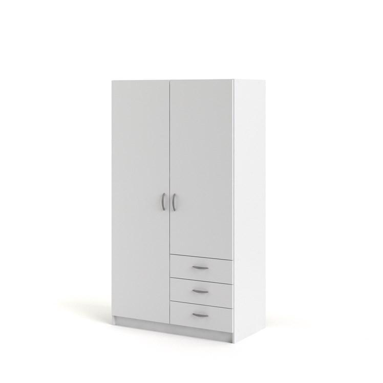 Focus Wardrobe with 2 doors + 3 drawers