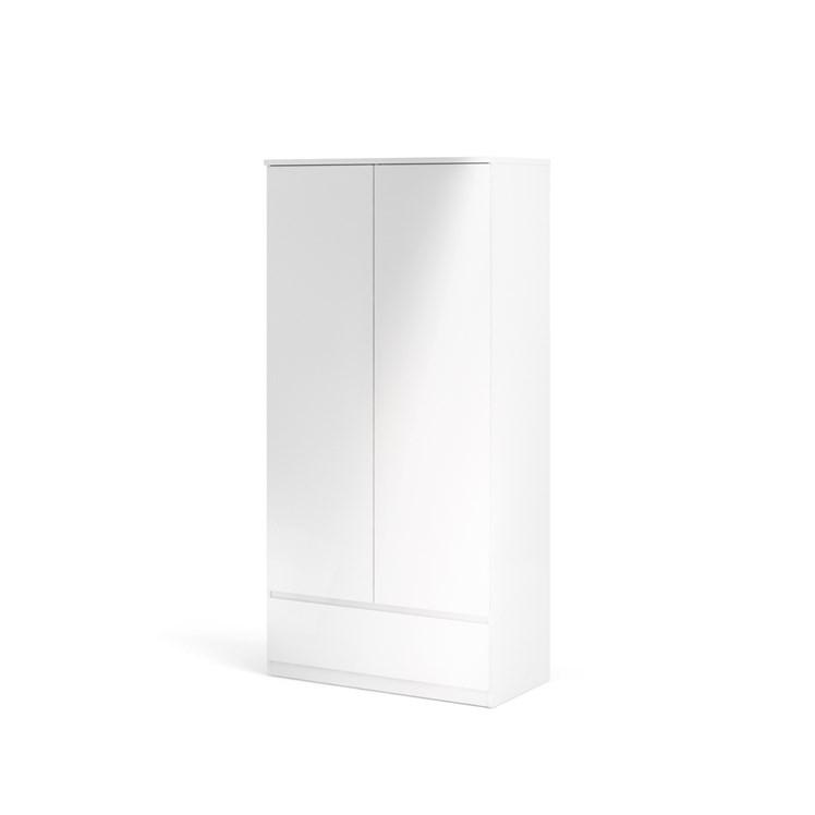 Naia Wardrobe with 2 doors + 1 drawer
