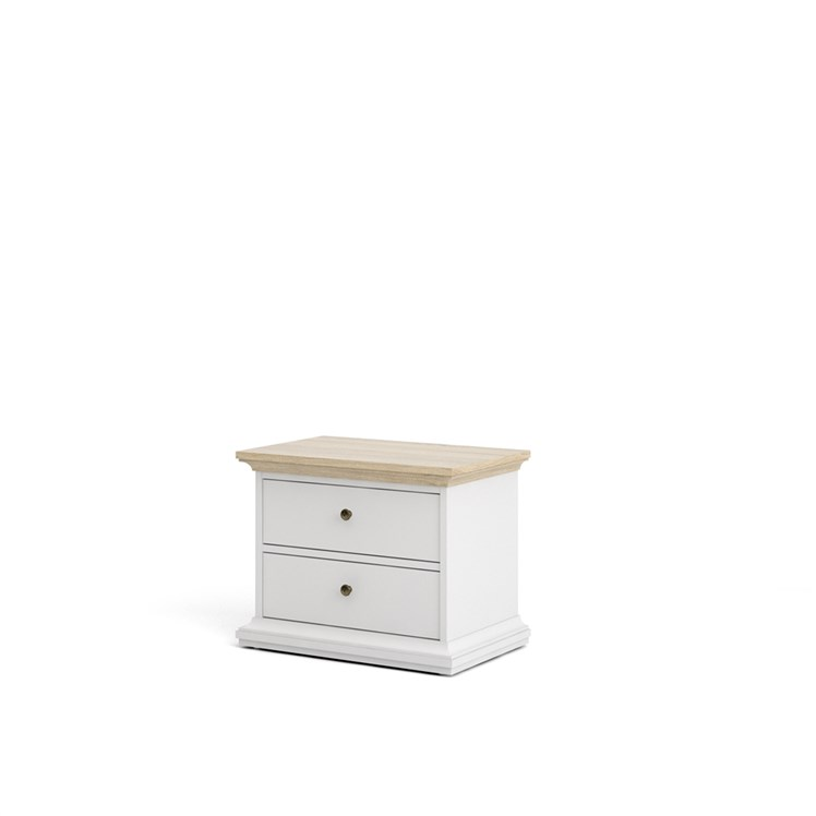 Paris Nightstand 2 drawers