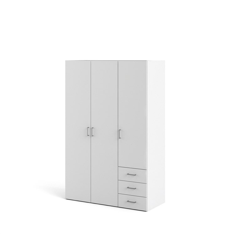 Space Wardrobe with 3 doors + 3 drawers (175)