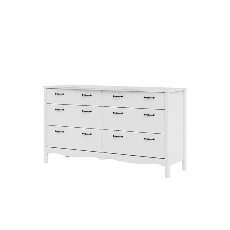 Biscayne Double dresser 6 drawers