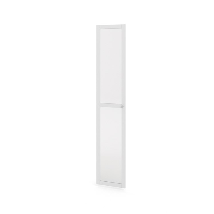 Basic frame door with glass