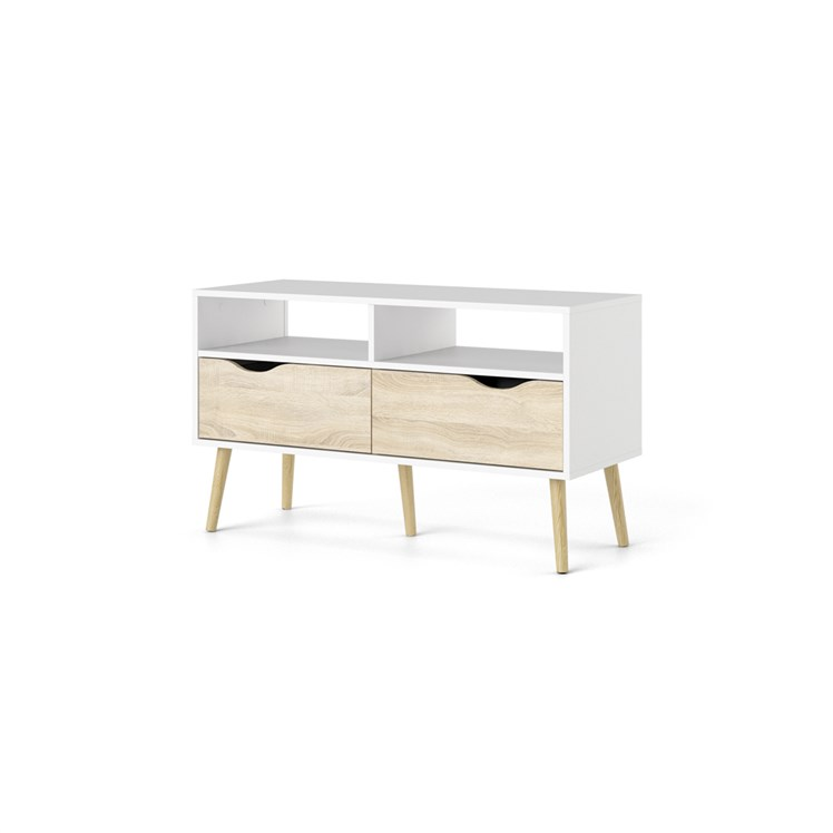 Oslo TV-unit 2 drawers