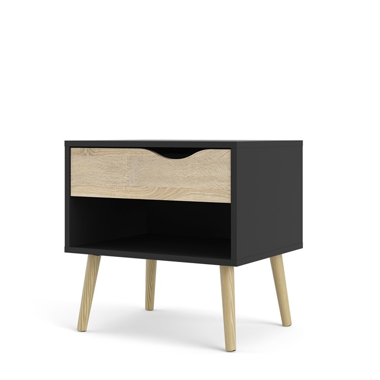 Oslo Nightstand 1 drawer