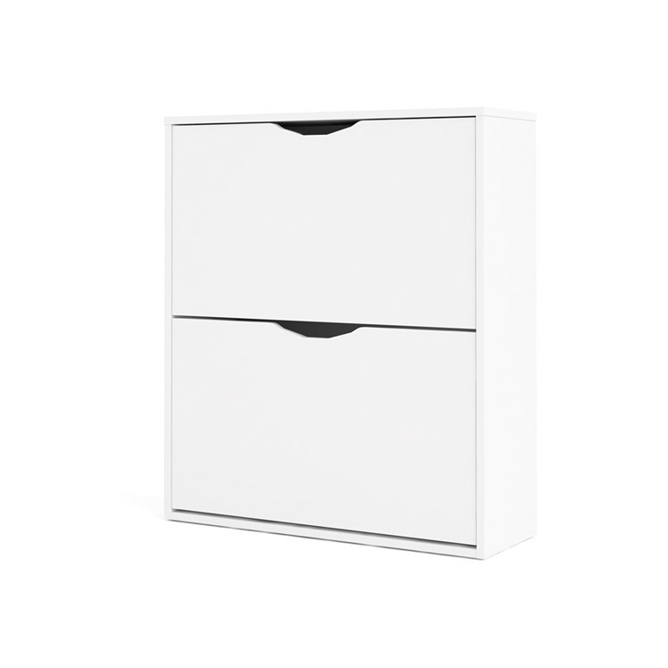 Idskov Shoe cabinet  w. 2 tilting doors and 2 layers