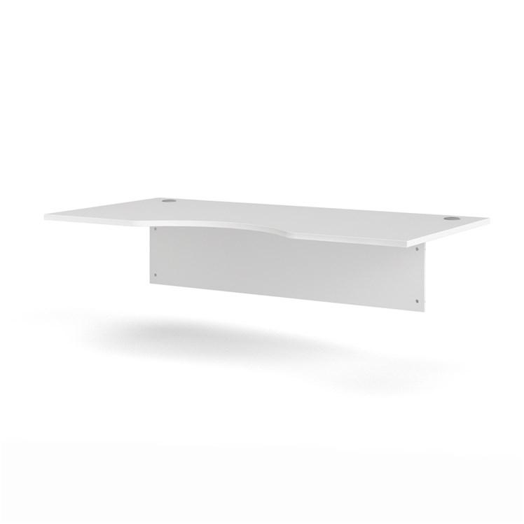 Prima Desk top w/modersty panel