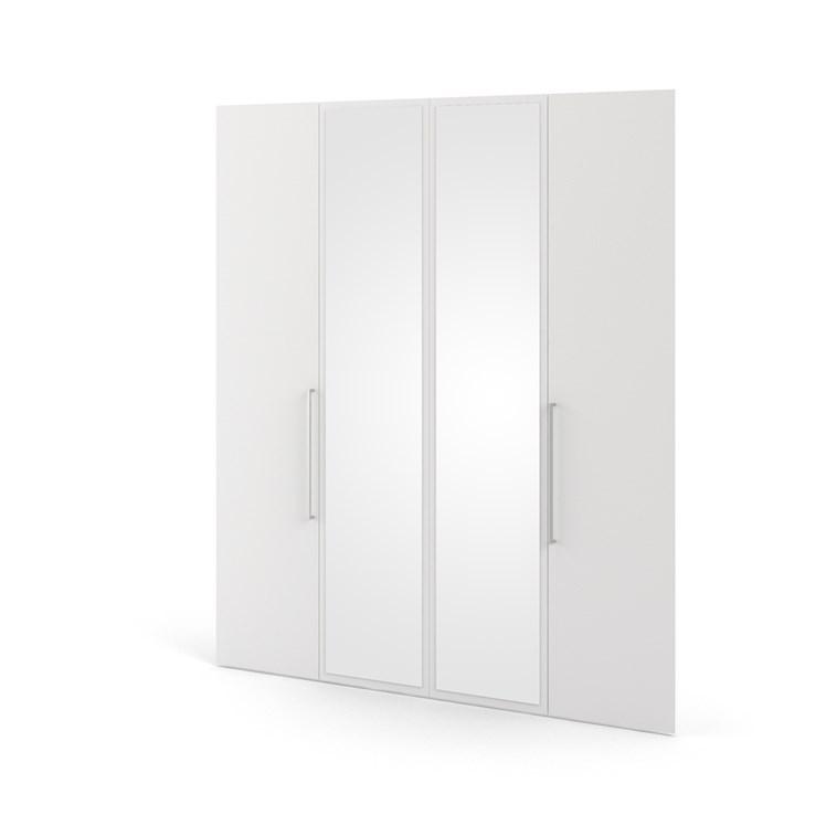 Larvik 2 doors + 2 mirror doors